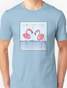 Flamingos Cartoon T-Shirt
