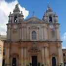 The Cathedral of Mdina by Christian  Zammit