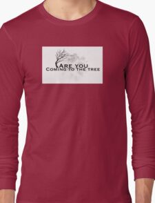 The hanging tree lyrics ( hunger games) Long Sleeve T-Shirt
