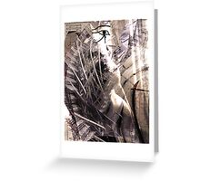 Beauty is in the eye of the Horus Greeting Card
