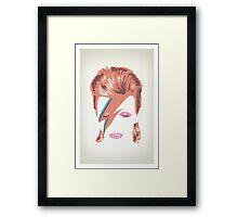 David Bowie: Aladdin Sane Framed Print