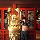 Little Buddha ...next to Buddha by Christian  Zammit