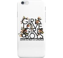 GIRLS/GIRLS/BOYS iPhone Case/Skin