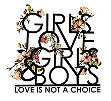 GIRLS/GIRLS/BOYS Photographic Print