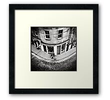 Victoria Street Edinburgh Framed Print