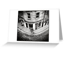 Victoria Street Edinburgh Greeting Card