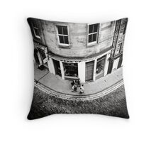 Victoria Street Edinburgh Throw Pillow