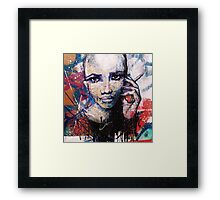 ADDICTED Framed Print