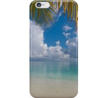 Postcard Perfection. Maldives iPhone Case/Skin