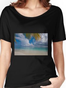 Postcard Perfection. Maldives Women's Relaxed Fit T-Shirt