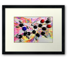 Molecule Study 2 Framed Print