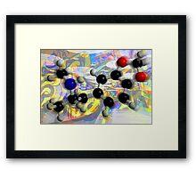 Molecule Study 3 Framed Print