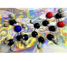 Molecule Study 3 Photographic Print