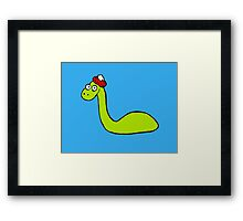 Loch Ness Monster Framed Print