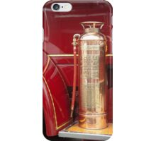 Vintage Fire Extinquiser on old truck iPhone Case/Skin