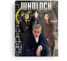 Wholock Metal Print