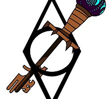 Skyrim Skeleton Key by AdMakesGraphics