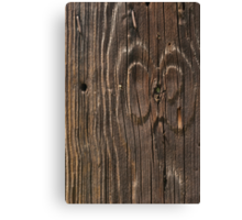 Weathered Wood  Canvas Print
