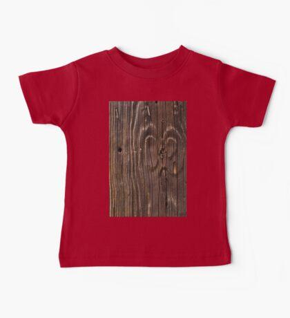 Weathered Wood  Baby Tee