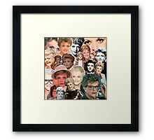 Dial M for Murder She Wrote Framed Print