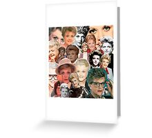 Dial M for Murder She Wrote Greeting Card