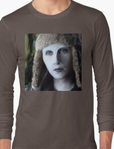 Yewll in her Snuggly Winter Hat Long Sleeve T-Shirt