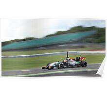 Sergio Perez - Force India Poster