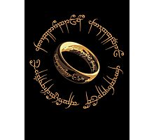 Lord of the Rings Marathon Design Photographic Print
