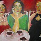 KAFFEE- KLATSCH by GittiArt