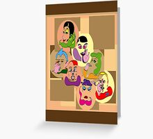 7 Deadly Sins (poster) Greeting Card