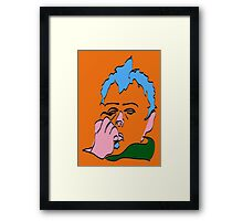 No7 Sloath Framed Print