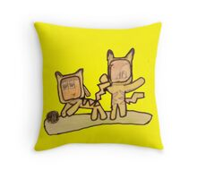 PIKACHU SUITS Throw Pillow