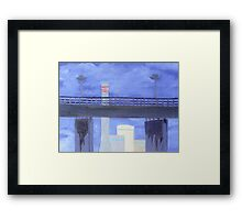 West Gate and Newport Framed Print