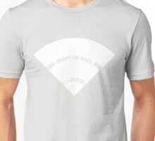 Good Encryption Makes Good Neighbours (Simplified Solid White) Unisex T-Shirt