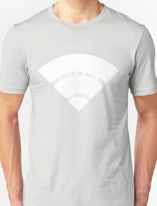 Good Encryption Makes Good Neighbours (Simplified Solid White) T-Shirt