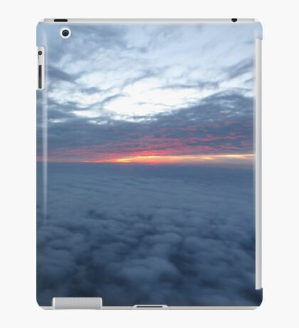 Sunset Cloud Decks iPad Case/Skin