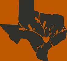 The Heart of Texas (UT Colors) by RavenToMidnight
