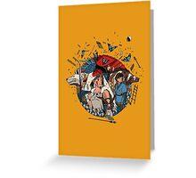 Ghibli's Princess Mononoke Greeting Card