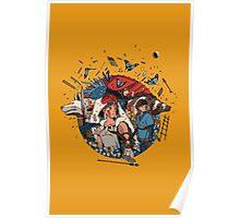 Ghibli's Princess Mononoke Poster