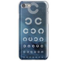 Optician Board iPhone Case/Skin