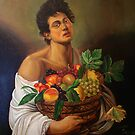 boy with fruit basket by jacinto