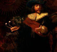 Steampunk Rembrandt - The Night Watch by StrangeStore