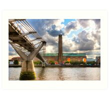 Tate Modern - London's Old Bankside Power Station Art Print