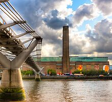 Tate Modern - London's Old Bankside Power Station by Mark Tisdale