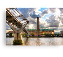 Tate Modern - London's Old Bankside Power Station Canvas Print