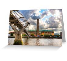 Tate Modern - London's Old Bankside Power Station Greeting Card