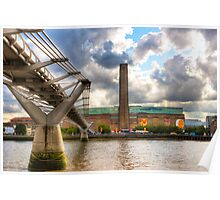 Tate Modern - London's Old Bankside Power Station Poster