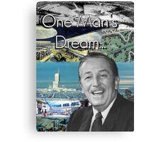 Walt Disney's EPCOT Center Canvas Print