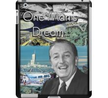 Walt Disney's EPCOT Center iPad Case/Skin