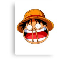 Luffy sticks! Canvas Print